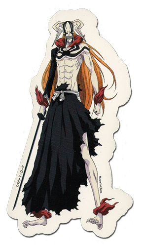 Bleach Hollow Ichigo Sticker officially licensed Bleach Stickers product at B.A. Toys.