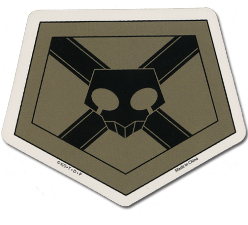 Bleach Shinigami Badge Sticker officially licensed Bleach product at B.A. Toys.