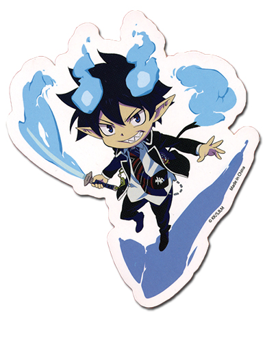 Blue Exorcist Rin Sticker, an officially licensed Blue Exorcist product at B.A. Toys.