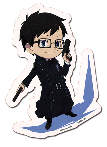 Blue Exorcist Yukio Sticker, an officially licensed Blue Exorcist product at B.A. Toys.