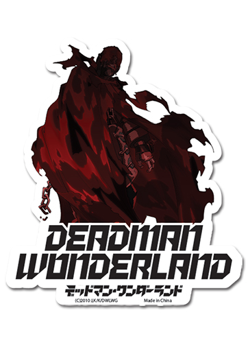 Deadman Wonderland - Wretched Egg Die Cut Sticker, an officially licensed product in our Deadman Wonderland Stickers department.