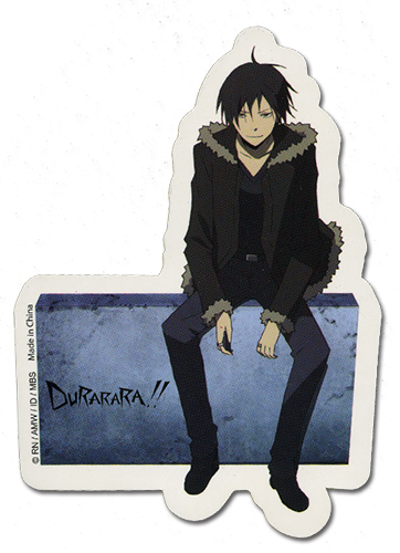 Durarara!! Izaya Sticker, an officially licensed product in our Durarara!! Stickers department.
