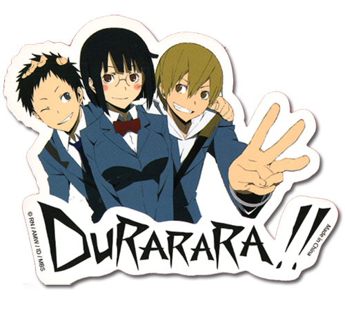 Durarara!! Group Sticker officially licensed Durarara!! Stickers product at B.A. Toys.