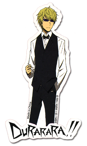 Durarara!! Shizuo Sticker officially licensed Durarara!! Stickers product at B.A. Toys.