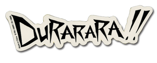 Durarara!! Logo Sticker, an officially licensed product in our Durarara!! Stickers department.