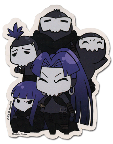 Fate/zero Assassin Sticker officially licensed Fate/Zero Stickers product at B.A. Toys.