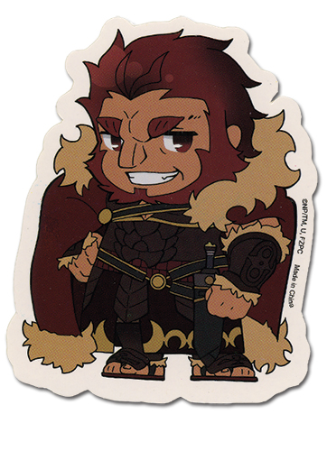 Fate/zero Rider Sticker officially licensed Fate/Zero Stickers product at B.A. Toys.