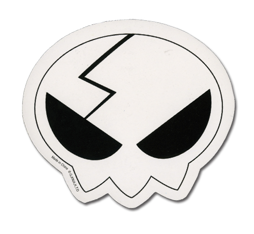 Gurren Lagann Yoko Skull Sticker, an officially licensed product in our Gurren Lagann Stickers department.