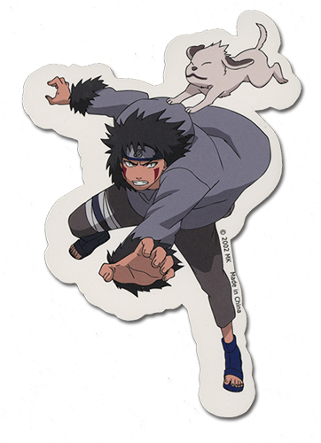 Naruto Kiba Sticker, an officially licensed product in our Naruto Stickers department.