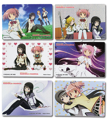 Madoka Magica - Foil Sticker officially licensed Madoka Magica Stickers product at B.A. Toys.