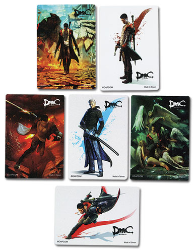 Devil May Cry - Devil May Cry Foil Sticker, an officially licensed Devil May Cry Sticker
