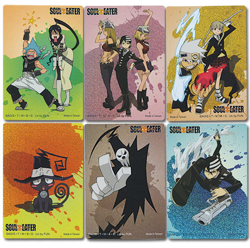 Soul Eater - Soul Eater Foil Sticker, an officially licensed product in our Soul Eater Stickers department.