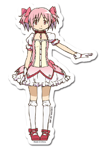 Madoka Magica Madoka Sticker, an officially licensed product in our Madoka Magica Stickers department.
