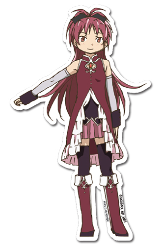 Madoka Magica - Kyouko Die Cut Sticker officially licensed Madoka Magica Stickers product at B.A. Toys.
