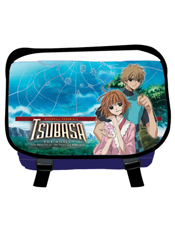 Tsubasa Sakura & Syaoran Messenger Bag, an officially licensed product in our Tsubasa Bags department.