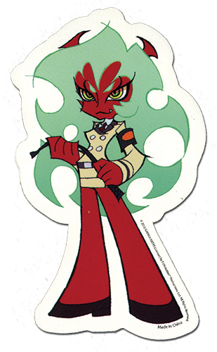 Panty & Stocking Scanty Sticker, an officially licensed product in our Panty & Stocking Stickers department.