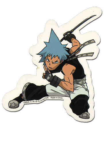 Soul Eater Black Star Sticker, an officially licensed product in our Soul Eater Stickers department.
