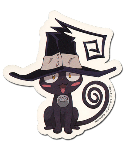 Soul Eater Neko Blair Sticker, an officially licensed product in our Soul Eater Stickers department.