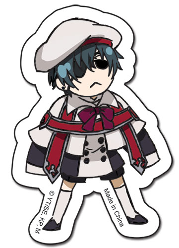 Black Butler Ciel Sticker, an officially licensed Black Butler product at B.A. Toys.
