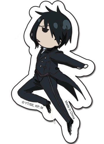 Black Butler Sebastian Sticker, an officially licensed product in our Black Butler Stickers department.