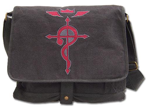 Fullmetal Alchemist Brotherhood Flamel's Cross Messenger Bag officially licensed product at B.A. Toys.
