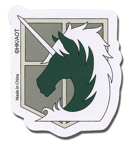 Attack On Titan - Military Police Sticker officially licensed Attack On Titan Stickers product at B.A. Toys.