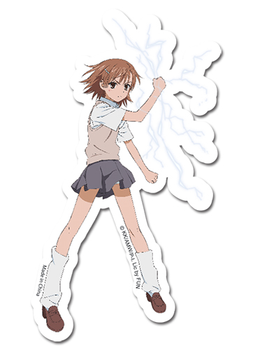 A Certain Magical Index Miska Sticker, an officially licensed A Certain Magical Index product at B.A. Toys.