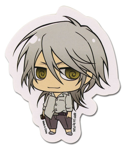 Psycho - Pass - Sd Makishima Sticker, an officially licensed product in our Psycho-Pass Stickers department.
