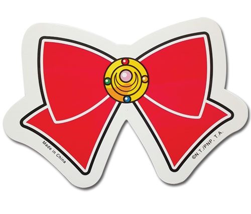 Sailor Moon - Bow Sticker, an officially licensed product in our Sailor Moon Stickers department.