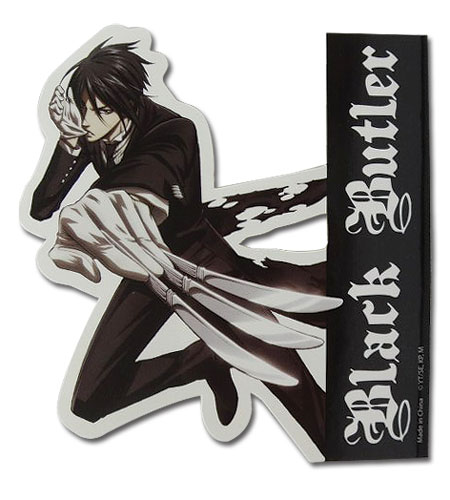 Black Butler - Battle Sebastian Sticker officially licensed Black Butler Stickers product at B.A. Toys.