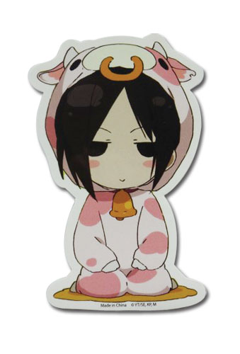 Black Butler - Sebastian Cow Sticker officially licensed Black Butler Stickers product at B.A. Toys.