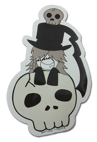 Black Butler - Understaker Sticker officially licensed Black Butler Stickers product at B.A. Toys.