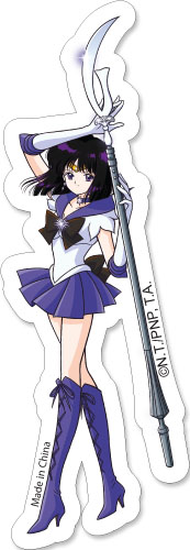 Sailor Moon -Sailor Saturn Sticker, an officially licensed product in our Sailor Moon Stickers department.