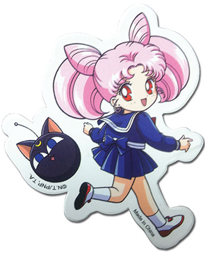 Sailor Moon - Chibi Moon Sticker, an officially licensed product in our Sailor Moon Stickers department.