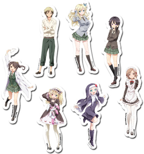 Haganai Next - Sticker Set, an officially licensed product in our Haganai Stickers department.
