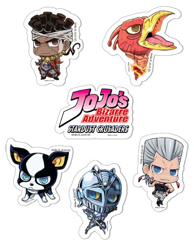 Jojo's Bizarre Adventure - Sd 2 Sticker Set, an officially licensed product in our Jojo'S Bizarre Adventure Stickers department.