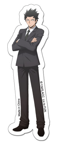 Assassination Classroom - Karasuma Sticker, an officially licensed Assassination Classroom product at B.A. Toys.