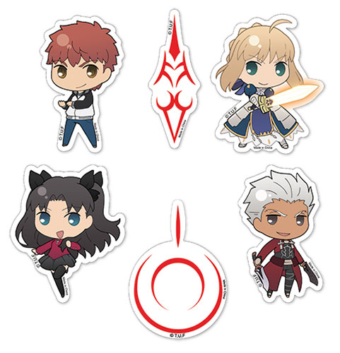 Fate/stay Night - Sticker Set officially licensed Fate/Zero Stickers product at B.A. Toys.