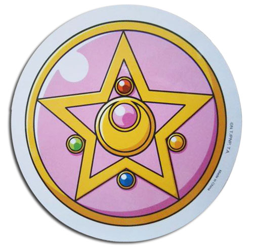 Sailor Moon R - Brooch Sticker, an officially licensed product in our Sailor Moon Stickers department.