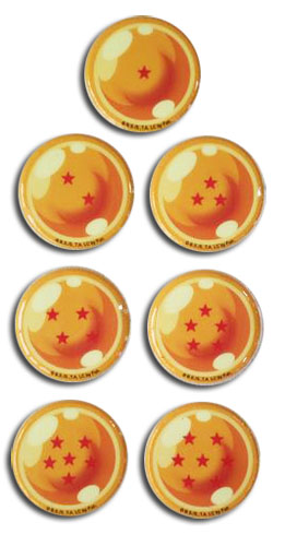 Dragon Ball Z - Dragon Ball Puffy Sticker Set, an officially licensed product in our Dragon Ball Z Stickers department.