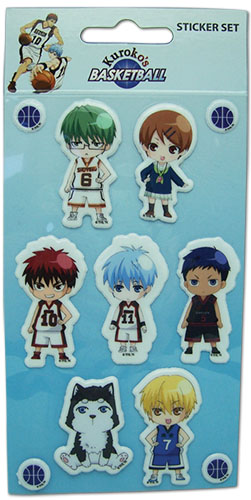 Kuroko's Basketball - Puffy Sd Sticker Set, an officially licensed product in our Kuroko'S Basketball Stickers department.