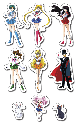Sailor Moon R - Puffy Sticker Set, an officially licensed product in our Sailor Moon Stickers department.