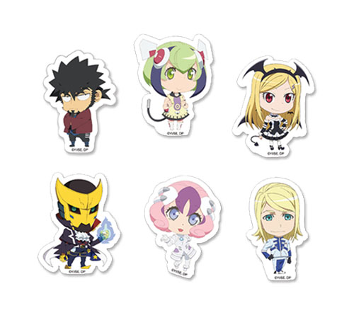 Dimension W - Sd Characters Sticker Set, an officially licensed product in our Dimension W Stickers department.