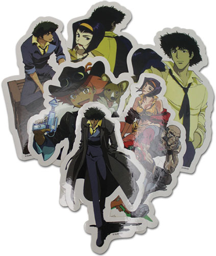 Cowboy Bebop - Group Die Sticker Set, an officially licensed product in our Cowboy Bebop Stickers department.