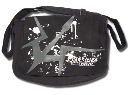 Code Geass Black Knight Messenger Bag, an officially licensed Code Geass Bag