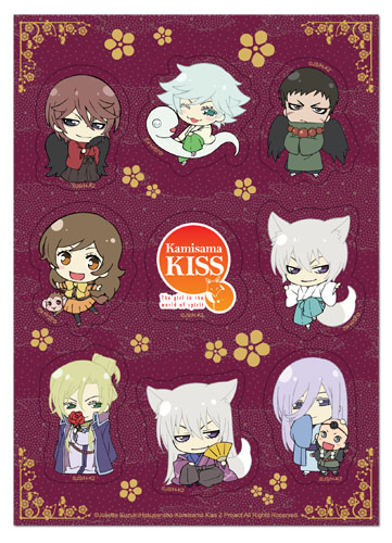 Kamisama Kiss 2 - Group Sticker Set, an officially licensed product in our Kamisama Kiss Stickers department.