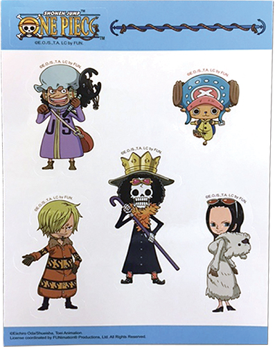 One Piece - Group Sd2 Sticker Set, an officially licensed product in our One Piece Stickers department.