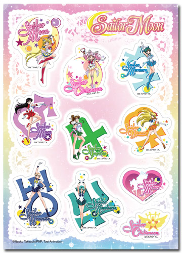 Sailor Moon Super S - Icons Sticker Set, an officially licensed product in our Sailor Moon Stickers department.