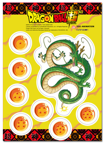 Dragon Ball Super - Dragon Ball Super Sticker Set, an officially licensed product in our Dragon Ball Super Stickers department.