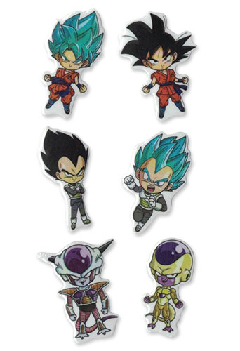 Dragon Ball Super - Sd Resurrection F Puffy Sticker Set, an officially licensed product in our Dragon Ball Super Stickers department.